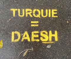 """""""Turquie = Daesh"""" Paris 2019"""