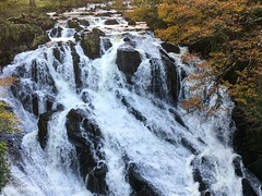 Swallow Falls, Snowdonia National Park, Betws-y-Coed