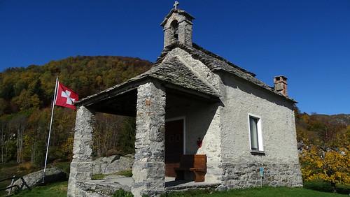 Kapelle auf dem Monti di Lego