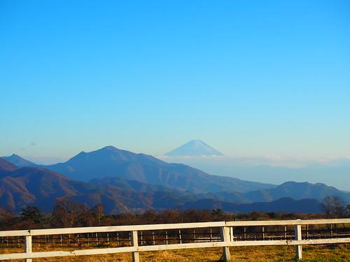Mt.Fuji from Kiyosato/清里より富士山を望む