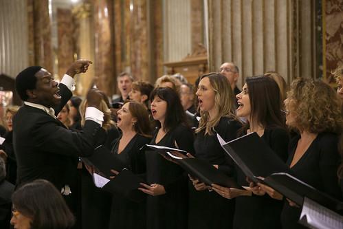 The Amazing Grace Gospel Choir sing a Kreol hymn