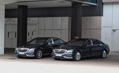 Mercedes-Maybach S-Class (X222) x2