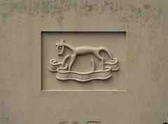 Berkshire Regiment badge