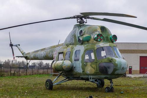 Veen 2015 : Preseved Ex. Polish air force Mi-2T 2637