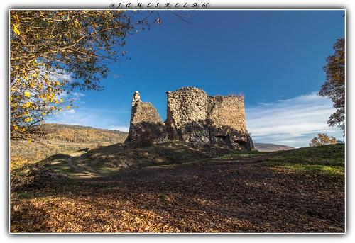 Ruines du Château du Hugstein - Buhl - Haut Rhin