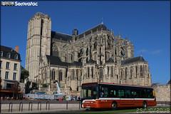 Irisbus Citélis 12 – Setram (Société d'Économie Mixte des TRansports en commun de l'Agglomération Mancelle) n°119