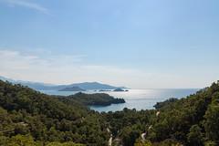 Luftbild der Bucht von Katranci in der Türkei