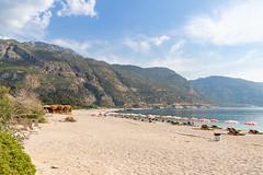 Ölüdeniz Beach with a view to Babadag Mountain, Turkey