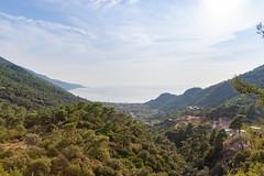 View over the Ölüdeniz Plajı bay, Turkey