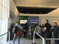 National and Alamo Car Rental Counters Charleston Airport Autorentals.com
