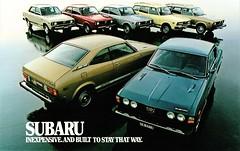 1978 Subaru Full Line