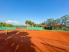 Tennis court of Robinson Club Sarigerme Park, Turkey