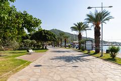 Promenade in Göcek, Türkei