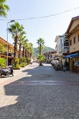 Einkaufsstraße in Göcek, Türkei