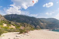 Paragliding over the Blue Lagoon in Ölüdeniz, Turkey