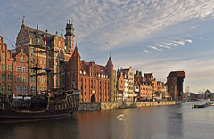 Poland - Gdansk - waterfront