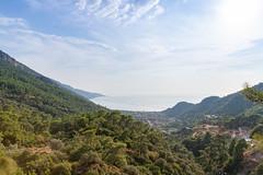 Blick über den Ölüdeniz Bucht, Türkei