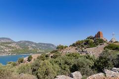 Alter Leuchtturm auf Baba Adasi Insel, Türkei