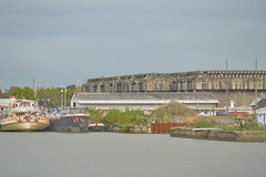 Nazi Submarine Pens, Bordeaux - Photo of Montussan
