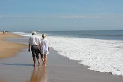 Walk along the beach, Cape Henlopen