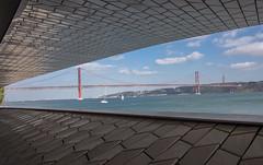 The 25 De Abril Bridge, Lisbon