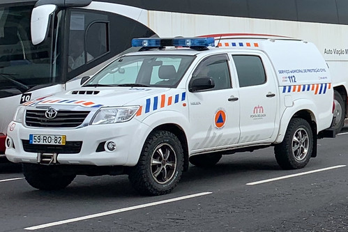 Ponta Delgada Civil Protection - Toyota Hilux