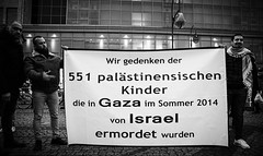 Berlin protest in solidarity with Gaza