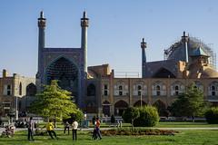 Iran, Isfahan - Boys playing football - October 2019