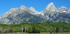 Ranch with View, Grand Teton NP 2011