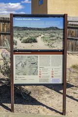 Info sign at Piedras Marcadas petroglyph site in Albuqurque-07 10-10-19