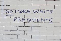 No more white presidents