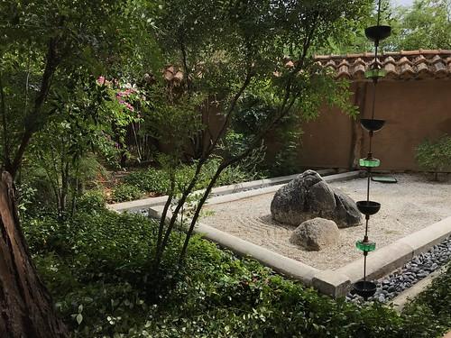 Zen garden at Tucson Botanical Gardens