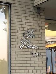 Vintage sign, The Elaine, Wisconsin Avenue NW, Washington, D.C.