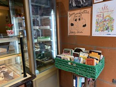 BOok crossing en boulangerie