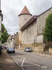 Tour Saint-Germain de l'ancien rempart de l'abbaye - Auxerre