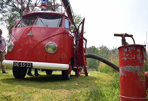 VW T1 fire engine