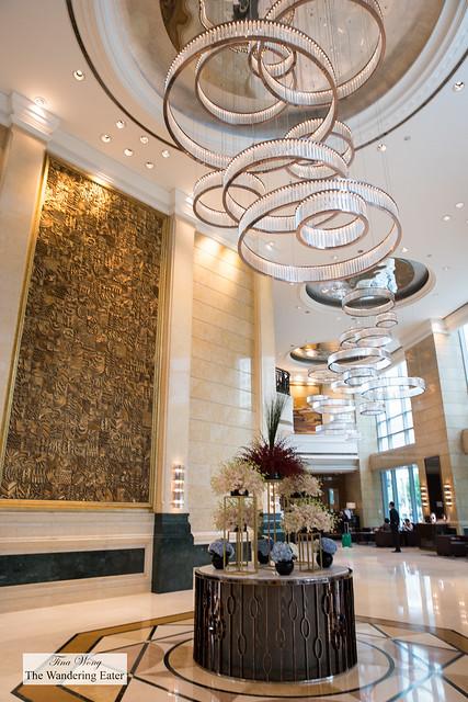Lobby of the Four Seasons Shanghai