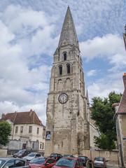 Cloché abbatial devenu campanile - Auxerre