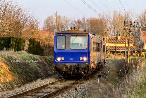 06 janvier 2009 x 2221-2238 Train 865718-9 Sarlat -> Bordeaux Saint-Vincent-Bézénac (24)