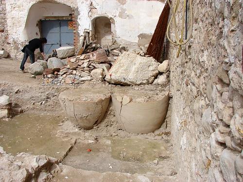 Patio del castillo de Doña Mencía 4267