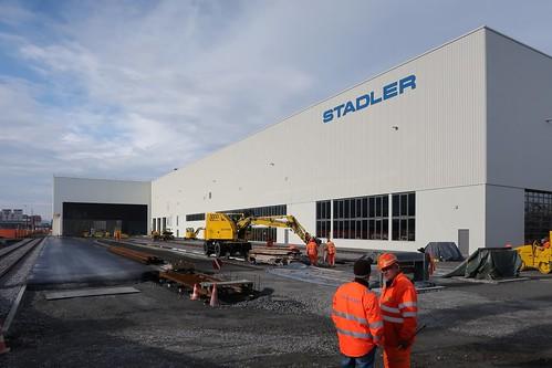 St. Margrethen - New Stadler Rail (Intro)