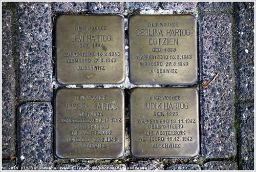 Levi Hartog, Serlina Hartog-Cutzien, Joseph Hartog and Judik Hartog