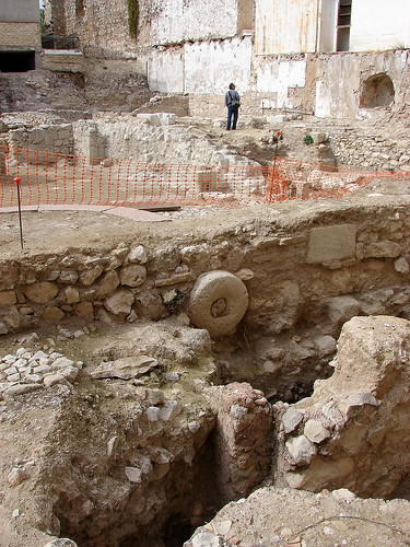 Patio del castillo Doña Mencía 4268