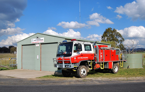 Rural Fire Brigade, O'Connell, NSW