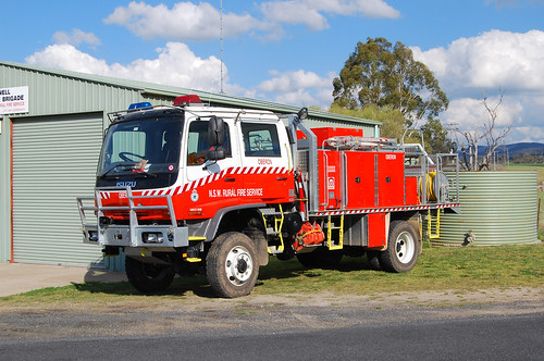 Rural Fire Brigade, O'Connell, NSW.