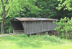 Bob White Covered Bridge, Woolwine, Virginia
