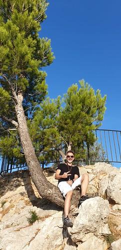 Andi klettert auf Bäumchen ;)