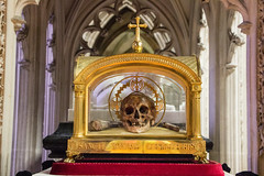 The Sacristry and the Skull of Saint Yves