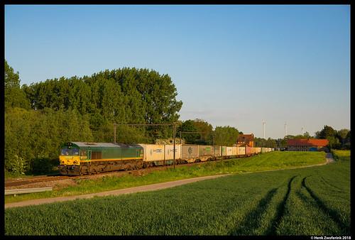 Railtraxx 266 031, Hoeselt 08-05-2018