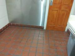 tiles of floor